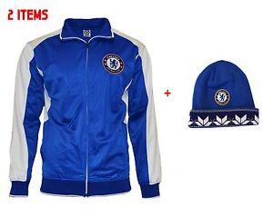 Chelsea Jacket Beanie set Track Soccer Adult new season official licensed