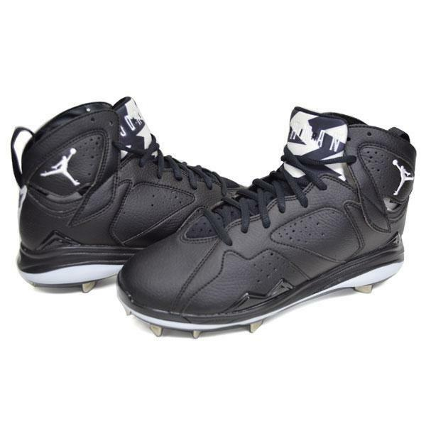 Size 11.5 Men's Nike Air Jordan Retro 7 Metal Baseball Cleat Athletic 684943 010