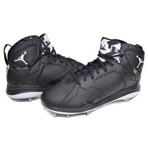 3cf29bf43a52 Size 15 Men s Nike Air Jordan Retro 7 Metal Baseball Cleats Athletic ...