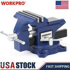 Workpro Bench Vise 4 12 Heavy Duty Utility Combination Pipe Swivel Home Vise