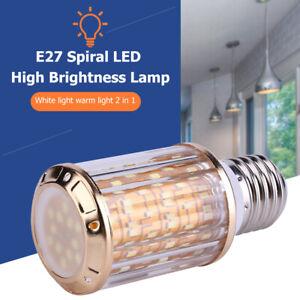 E27-86-265V-LED-Gluehbirne-Birne-18W-28W-38W-Mais-Licht-Leuchtmittel-Lamp-Dimmbar