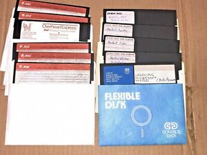 Vintage-AT-amp-T-Personal-Computer-6300-Demo-Floppy-Disks-Boot-Dos-Microsoft-Word