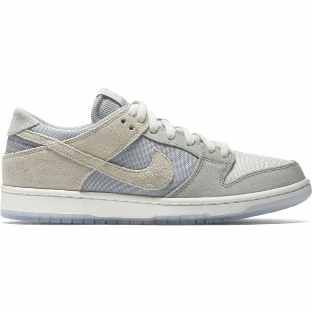 check out b6c3c 94654 NIke SB ZOOM DUNK LOW PRO Wolf Grey Summit White 854866-011 (705)