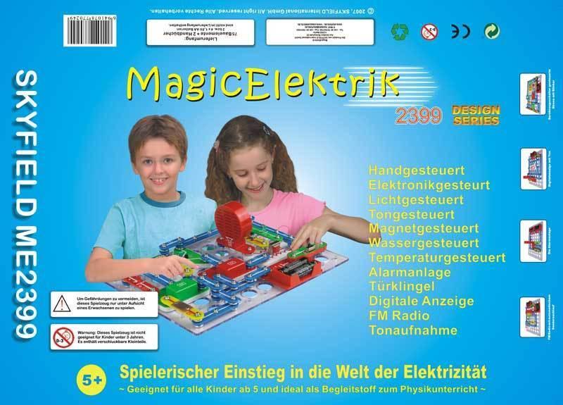 SKYFIELD MagicElektrik Baukasten ME2399 Lernspiel Physik Elektrik    Düsseldorf Online Shop