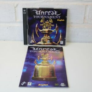 UNREAL TOURNAMENT - PC CD ROM MAC GAME DISC IN CASE WITH ...