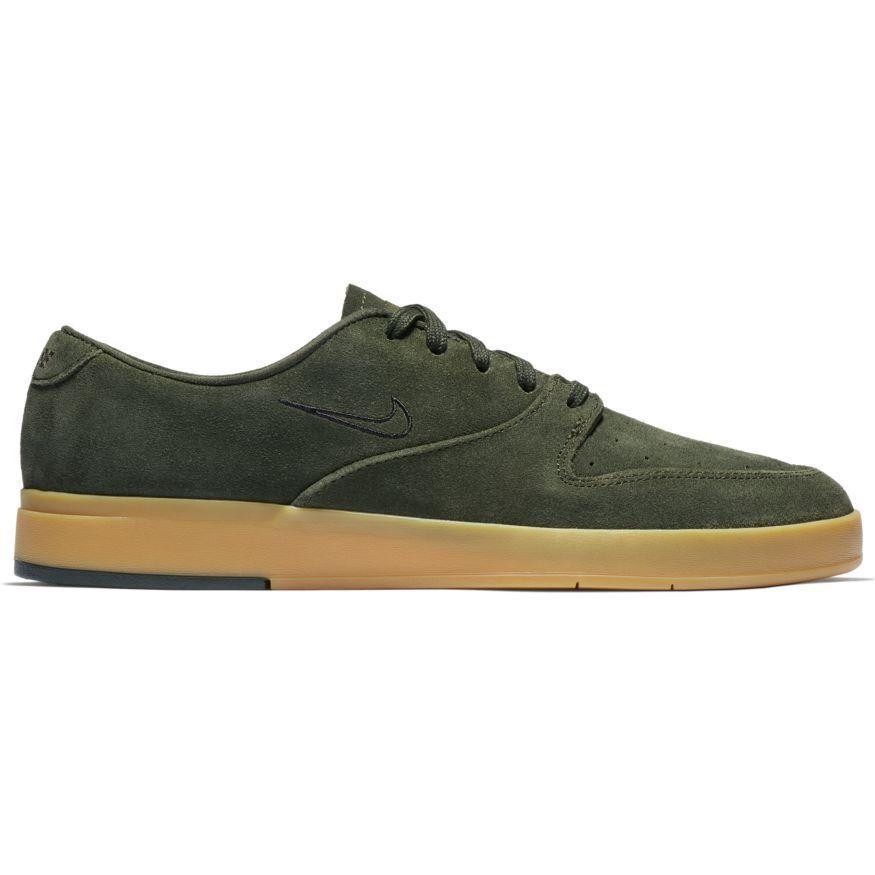 Nike Sb PRod X Skateboarding Goma Zapatos Sequoia Negro Goma Skateboarding fc0bc3