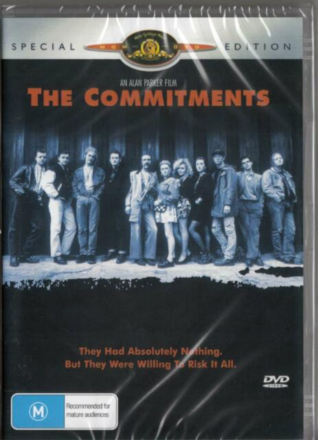 THE COMMITMENTS -  NEW & SEALED DVD - FREE LOCAL POST