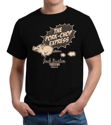 The Pork Chop Express Piggy Cute Little Miss Piggy Fast Safe Black T-Shirt