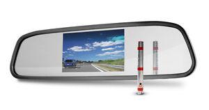 4 3 tft r ckspiegel mit monitor bildschirm f r. Black Bedroom Furniture Sets. Home Design Ideas
