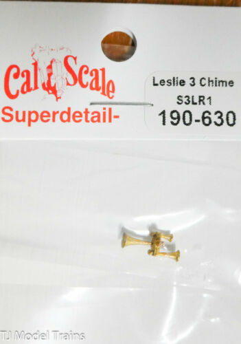 Brass Casting Cal-Scale HO #630 Leslie 3 Chime S3LR1