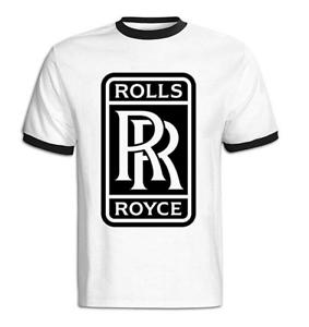Mens Black Spirit of Ecstasy T-Shirt in All Sizes Rolls Royce