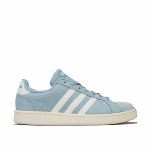 Femmes-Adidas-Originals-Grand-Cour-Baskets-En-Bleu