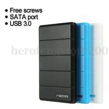 USB 3.0 2.5'' SATA SSD Hard Drive Disk Enclosure External Case Box Anti-shock