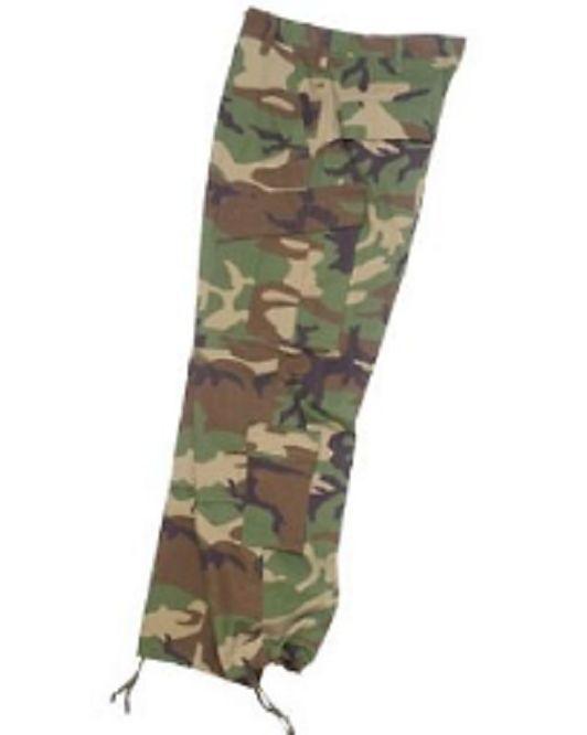 US ACU Combat Tactical Army Ripstop Feldhose Hose woodland camouflage XXLarge  | Verschiedene Stile