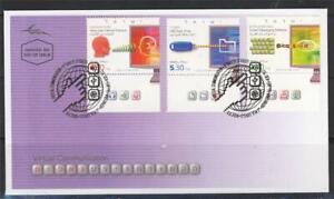 ISRAEL-2009-VIRTUAL-COMMUNICATION-3-STAMPS-ON-IPA-FDC-COMPUTER-KEYBOARD-MONITOR