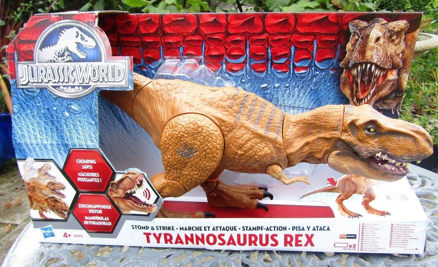 GRANDE HASBRO JURASSIC WORLD Tyrannosaurus Rex-Nuovo in Scatola
