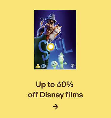 Up to 60% off Disney films