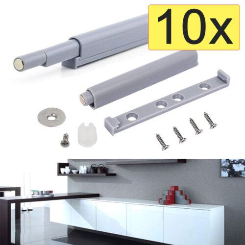 10x Druckschnäpper Push to Open Türöffner Magnetschnäpper Türschnäpper Schrank