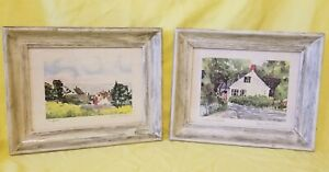 PAIR-OF-VINTAGE-SIGNED-WATER-COLOR-PAINTING-ON-WOODEN-FRAME-16-034-LONG