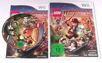 """NINTENDO WII SPIEL"""" LEGO INDIANA JONES 2 die neuen Abenteuer """" KOMPLETT"""
