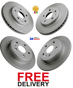 FOR-VAUXHALL-INSIGNIA-1-4-1-8-2-0-CDTi-2008-2017-FRONT-amp-REAR-BRAKE-DISCS-SET