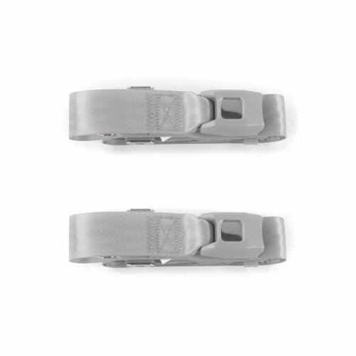 Chevy Corvair 1960-1969 Standard 2pt G//G Lap Bkt Seat Belt Kit-2 Belts