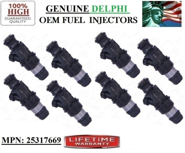 Repair Kit for 8 Fuel injectors seals o-rings For Cadillac Escalade 5.3//6.0L V8