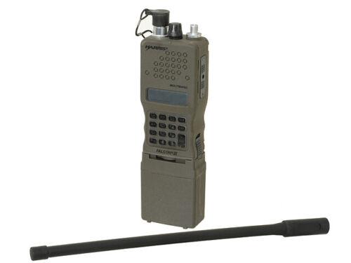 Airsoft prc 152 dummy radio case aeg milsim tactical