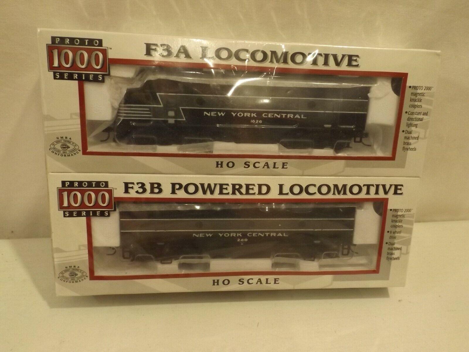 HO Predo 1000 New York Central F3 A+B diesel engines, NIB