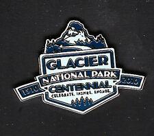 GLACIER NATIONAL PARK CENTENNIAL 1910 - 2010 LAPEL PIN