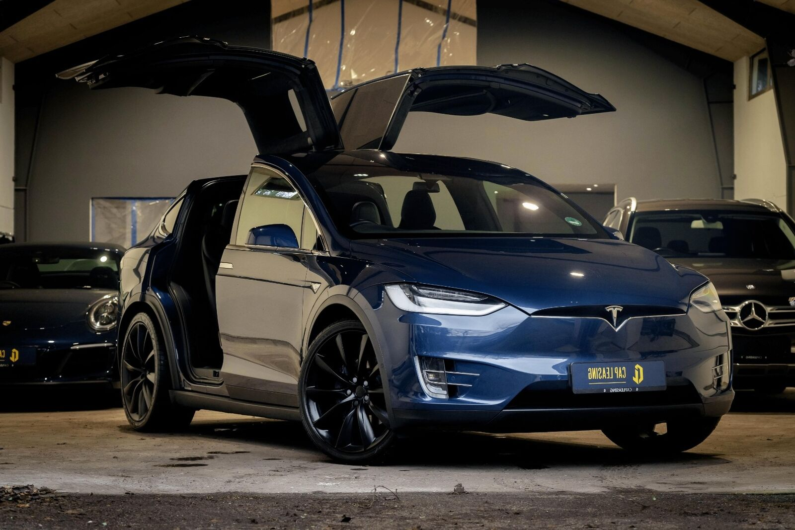 Tesla Model X  100D 6prs 5d - 859.000 kr.