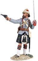 Britains Sudan War 27059 British 42nd Highlander Officer Firing Pistol