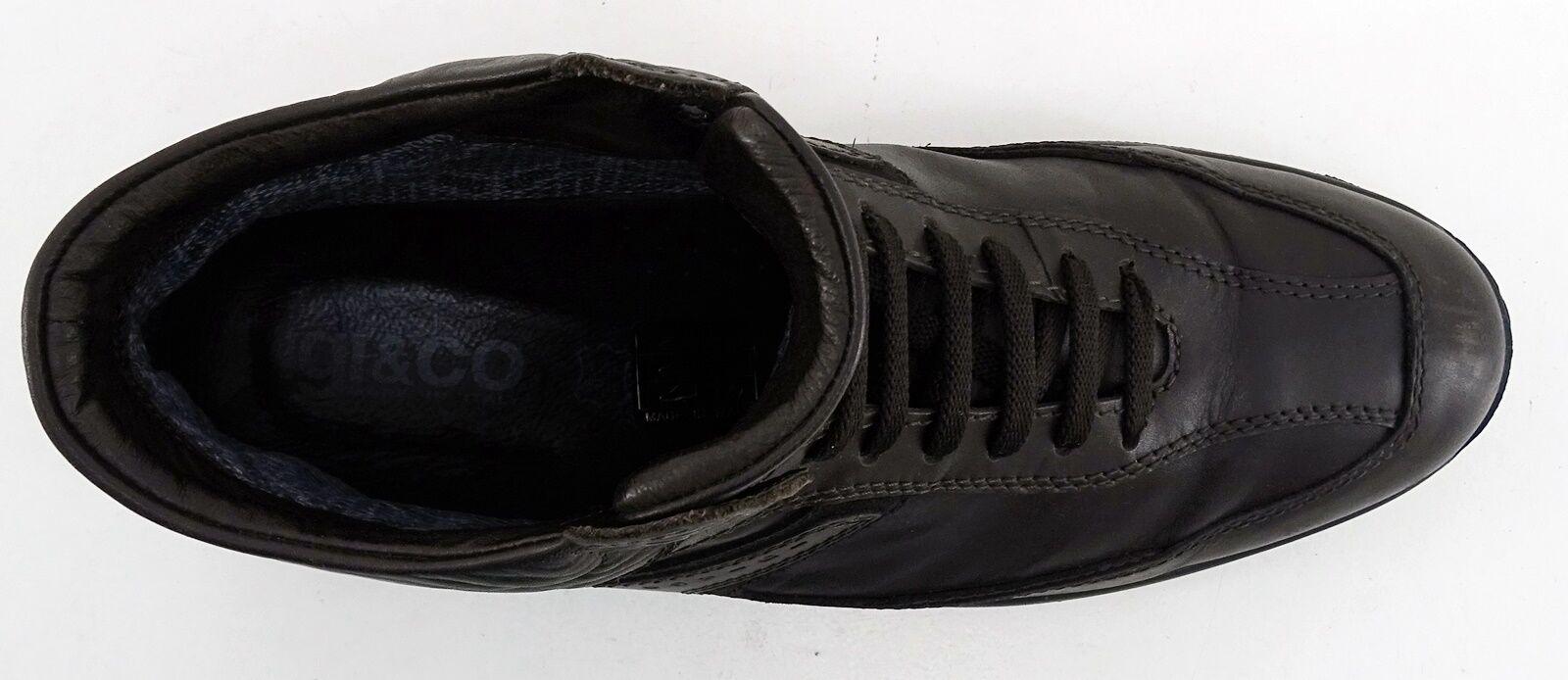 Stiefeletten Igi & Co Stiefel 46 Schnürer Echtleder braun Gr. 46 Stiefel 31e544