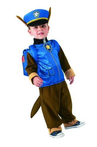 One Color Small Rubie/'s Costume Toddler PAW Patrol Chase Child Costume