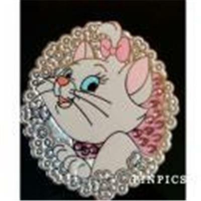LICENSED NEW FREE SHIPPING Disney ARISTOCATS Lapel Pin By LOUNGEFLY Marie