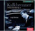 Kalkbrenner 3 Piano Sonatas Luigi Gerosa Dynamic CDS7707