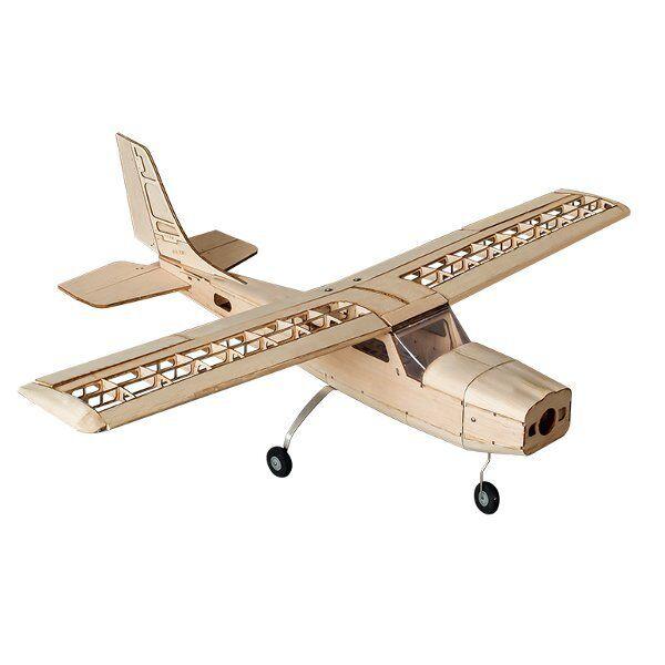 Cessna 960mm Envergadura Balsa Wood RC Avión KIT