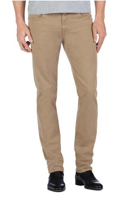 J Brand Da Da Da Uomo Mick 140613O207 Jeans Skinny Auburn verde Taglia 34 151c67