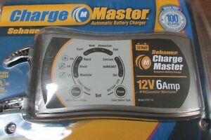 BATTERY-MASTER-CHARGER-SCHAUER-12V-1-4-6A-MULTISTAGE-AUTOMATIC-DESULFATER-EACH