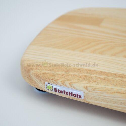 StolzHolz Gleitbrett KitchenAid Esche transparent geölt NEU mit Rechnung