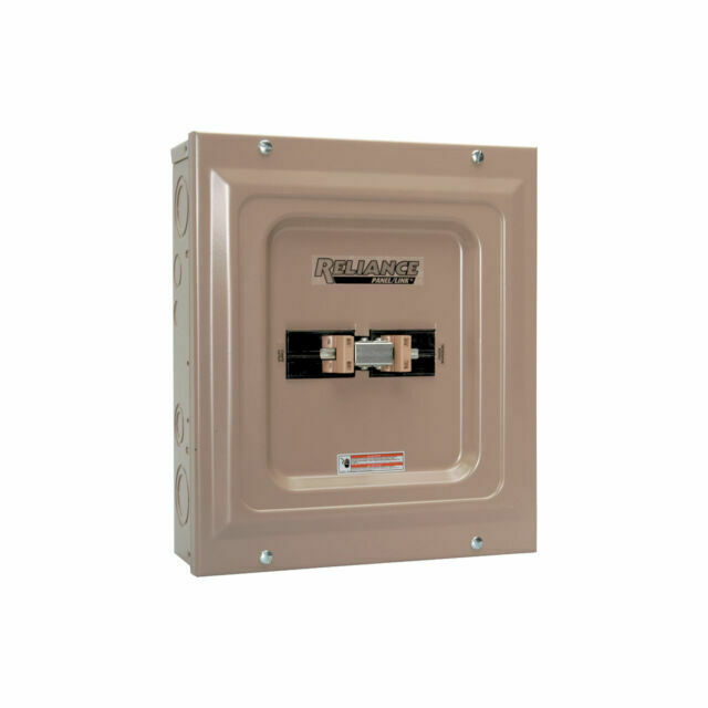 Reliance Controls Tca0606d Transfer Panel Switch 60a for sale online