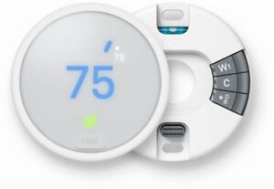 NEW-Nest-Thermostat-E-White-24-Bit-Color-LCD-Screen-Smartphone-Connectivity