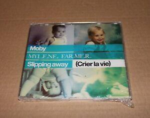 MYLENE-FARMER-MOBY-MAXI-CD-SLIPPING-AWAY-NEUF