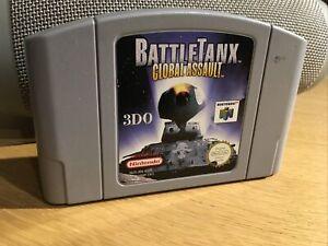 Battletanx global asalto Nintendo N64 juego PAL solo carro
