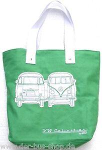 VW-Bus-T1-Tasche-Umhaengetasche-Shopper-Gruen-NEU-amp-OVP