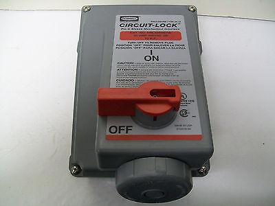 Hubbell HBL420MI7W Circuit-Lock Pin /& Sleeve Mechanical Interlock 20A 480V 10HP