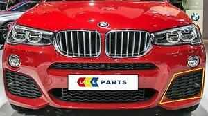 BMW-X3-X4-14-16-NEW-GENUINE-FRONT-M-SPORT-BUMPER-N-S-LEFT-LOWER-GRILL-8056941