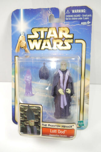 Star Wars Phan Menace Lott Dod Action Figure Hasbro New Lr15