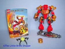 Raro Lego Bionicle 70787 Tahu Master Of Fire-figura completa con instrucciones