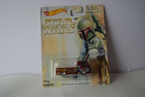 Hot Wheels Star Wars Bounty Hunter Series /'60 FORD ECONOLINE BOBA FETT  AS PICT!